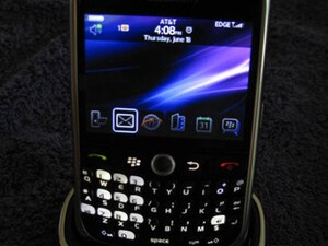 AT&T BlackBerry Curve 8900 Review