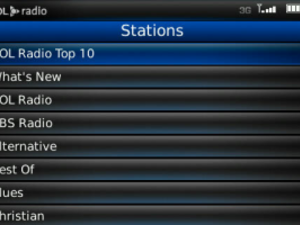 AOL Radio Player Now Available For BlackBerry Bold | CrackBerry com