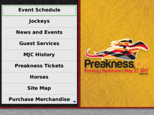 Keep up with the Preakness on your BlackBerry
