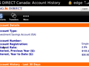 Free ING Direct App for BlackBerry Smartphones Lets You View Accounts, Transactions and More