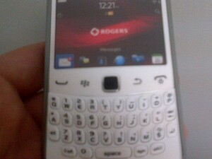 Rogers white Curve 9360 dummy units arriving in stores - November 15th launch