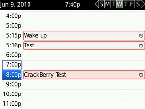 Quick tip: Setting multiple alarms on your BlackBerry Smartphone