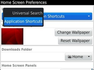 Quick Tip: How to enable home screen shortcuts in BlackBerry 7