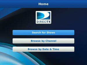 DIRECTV DVR Scheduler App Now Available for BlackBerry Smartphones