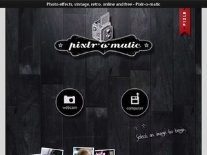 Apply vintage photo effects to images with Pixlr-o-matic on your BlackBerry PlayBook