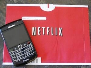 KFlicks Netflix manager for BlackBerry