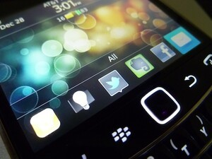 Adam's most-used BlackBerry Apps of 2011