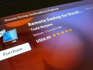 Remote Desktop for BlackBerry PlayBook now available