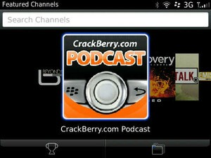 Review: BlackBerry Podcasts