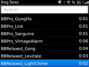Get OS5 ringtones back on your OS6 BlackBerry