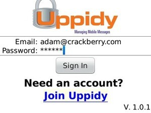 Uppidy lets you store your SMS messages for free