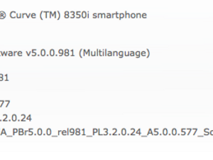 Official OS 5.0.0.577 for the BlackBerry Curve 8350i from SouthernLINC