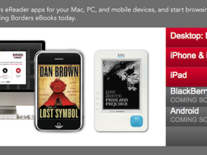 Borders eReader app coming soon to BlackBerry?