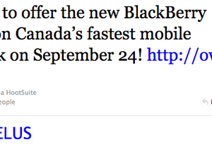 BlackBerry Torch 9800 available from Telus on September 24th