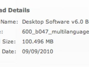BlackBerry Desktop Manager updated to version 6.0.0.47