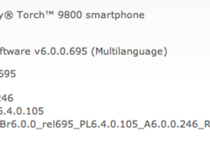Official OS 6.0.0.246 for the BlackBerry Torch 9800 now available from Rogers and Telus