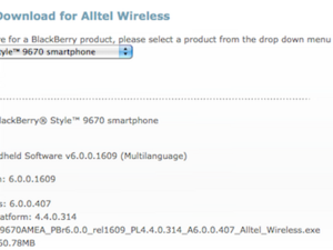 BlackBerry Style 9670 headed to Alltel?