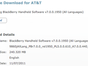 Official OS 7.0.0.440 for the BlackBerry Torch 9860 from AT&T