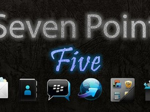Clean up your home screen with Seven Point Five for OS7 devices - 25 copies up for grabs