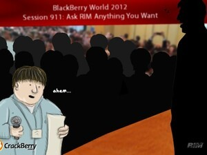What are you most looking forward to at BlackBerry World 2012?