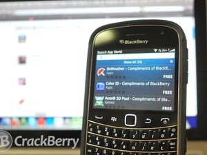 Download free apps for your OS7 device compliments of BlackBerry