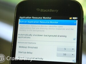 RIM adding Application Resource Monitor to BlackBerry OS 7.1