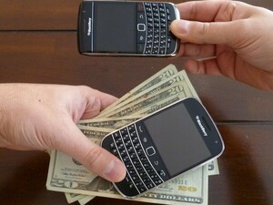 Get paid to upgrade to a new BlackBerry? If eligible, YES!