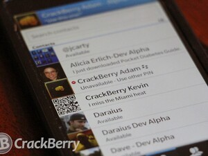 10 Weeks of BlackBerry 10: BBM