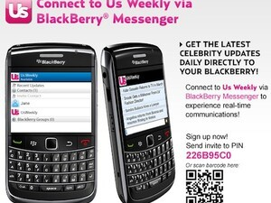 US Weekly delivers celebrity news through BBM