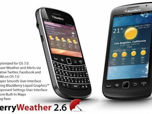 BerryWeather updated to v2.6 - Brings OS 7 support, bug fixes and new features
