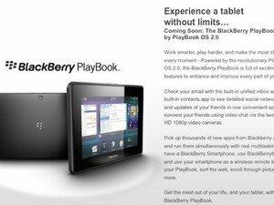 Best Buy hints at Twitter and Kindle apps for BlackBerry PlayBook