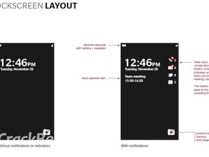 More BlackBerry 10 screen caps - Is this the BlackBerry 10 lock screen and notifications?