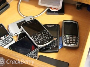 BlackBerry Timeline - A look at the CrackBerry writers device history