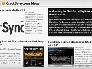 BlackBerry News now available for the BlackBerry PlayBook