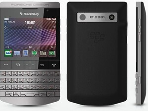 RIM unveils the Porsche Design BlackBerry P9981 in Dubai