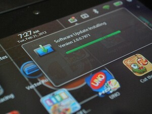 BlackBerry PlayBook OS 2.0 Walkthrough