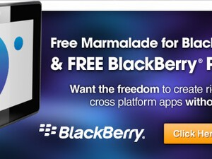 Game Developers: Get a free Marmalade SDK license and BlackBerry PlayBook