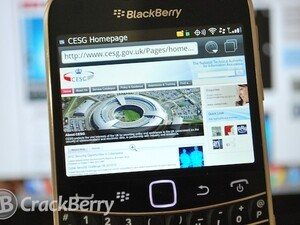 Press Release: BlackBerry 7 OS Approved by CESG for Government Use