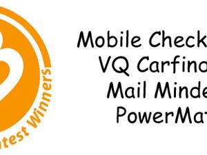 Contest Winners: PowerMat, MailMinder, VQ CarFinder, Mobile Checkbook