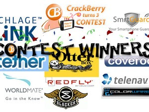 CrackBerry Turns 3 Years Old Birthday Contest Winners Announced!!
