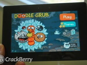 Doodle Grub now available for the BlackBerry PlayBook