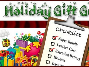 CrackBerry Holiday Gift Guide: Accessories and Applications for the Organized Mom and Dad