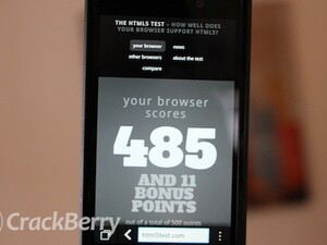 HTML5:  BlackBerry's biggest asset or greatest distraction?