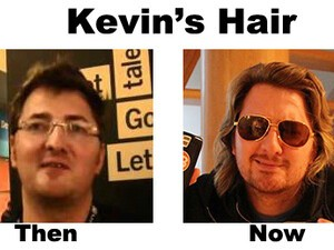 An app that Kevin needs now more than ever - HairTips