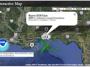 Help efforts in the Gulf with mobile app from MapTheSpill.org