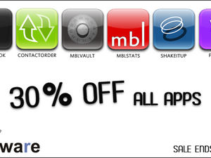Get All mblware Apps for 30% Off Through Friday