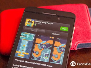Where's My Perry? now available for BlackBerry 10 devices