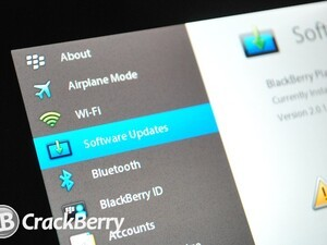 BlackBerry PlayBook OS 2.1.0.840 for developers now available