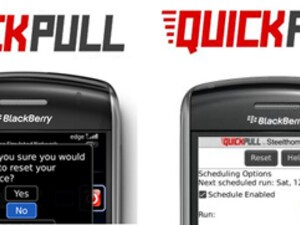 Quickpull and Quickpull Pro  - Leave your BlackBerry's Backside Behind