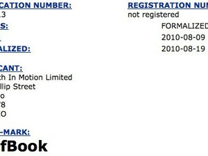 RIM files SurfBook trademark - possible name for BlackBerry tablet?